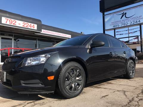 2014 Chevrolet Cruze for sale at NORRIS AUTO SALES in Oklahoma City OK