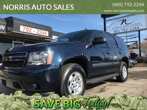 2009 Chevrolet Tahoe for sale at NORRIS AUTO SALES in Oklahoma City OK