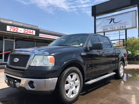 2006 Ford F-150 for sale at NORRIS AUTO SALES in Oklahoma City OK