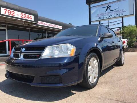 2014 Dodge Avenger for sale at NORRIS AUTO SALES in Oklahoma City OK