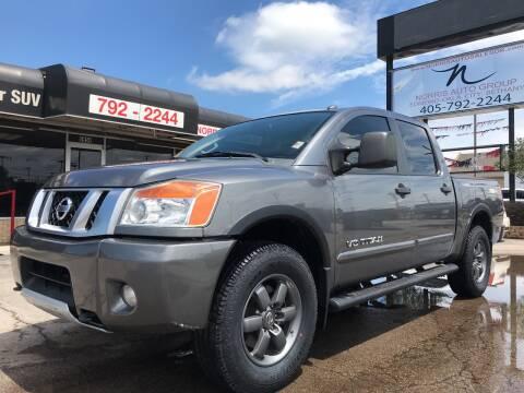 2015 Nissan Titan for sale at NORRIS AUTO SALES in Oklahoma City OK
