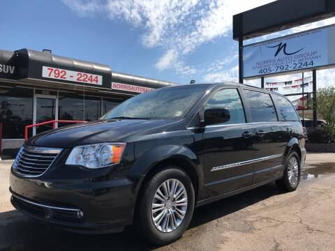 2016 Chrysler Town and Country for sale at NORRIS AUTO SALES in Oklahoma City OK