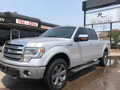 2014 Ford F-150 for sale at NORRIS AUTO SALES in Oklahoma City OK