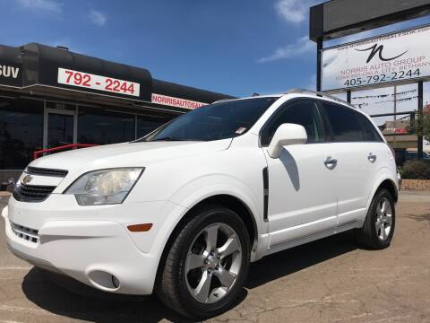2013 Chevrolet Captiva Sport for sale at NORRIS AUTO SALES in Oklahoma City OK