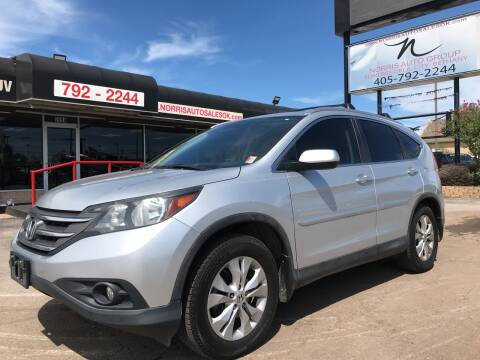 2014 Honda CR-V for sale at NORRIS AUTO SALES in Oklahoma City OK