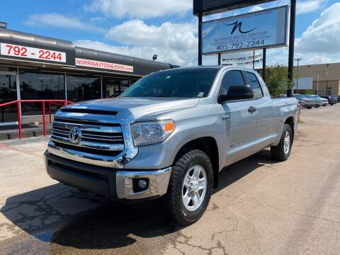 2017 Toyota Tundra for sale at NORRIS AUTO SALES in Oklahoma City OK