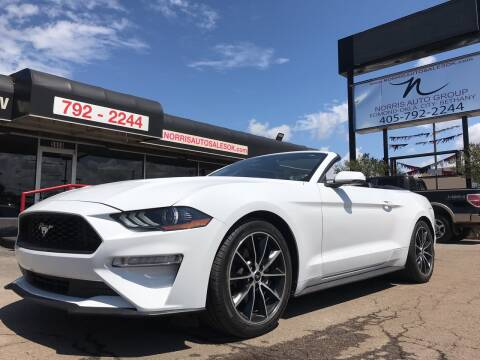 2018 Ford Mustang for sale at NORRIS AUTO SALES in Oklahoma City OK