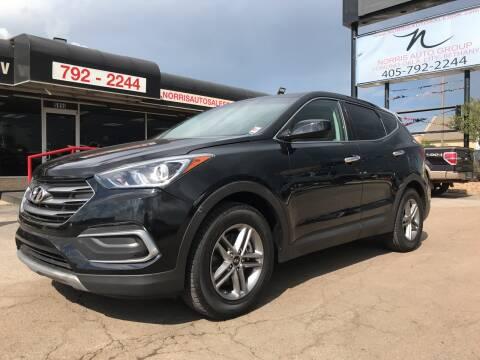 2018 Hyundai Santa Fe Sport for sale at NORRIS AUTO SALES in Oklahoma City OK