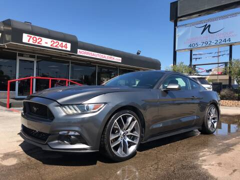 2015 Ford Mustang for sale at NORRIS AUTO SALES in Oklahoma City OK