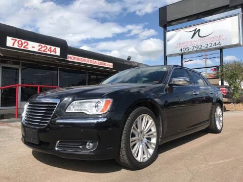 2011 Chrysler 300 for sale at NORRIS AUTO SALES in Oklahoma City OK