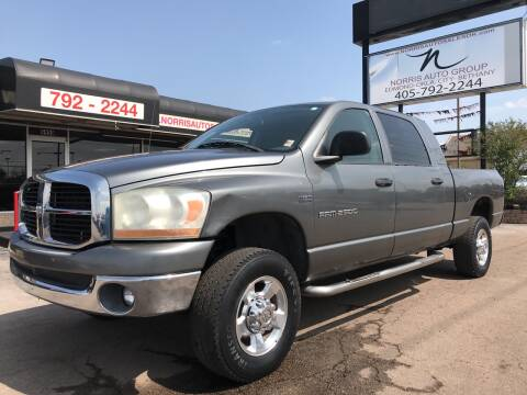 2006 Dodge Ram Pickup 2500 for sale at NORRIS AUTO SALES in Oklahoma City OK