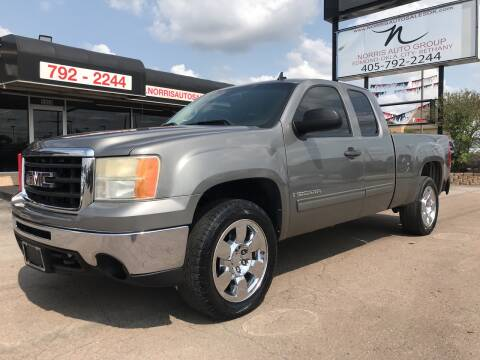 2009 GMC Sierra 1500 for sale at NORRIS AUTO SALES in Oklahoma City OK