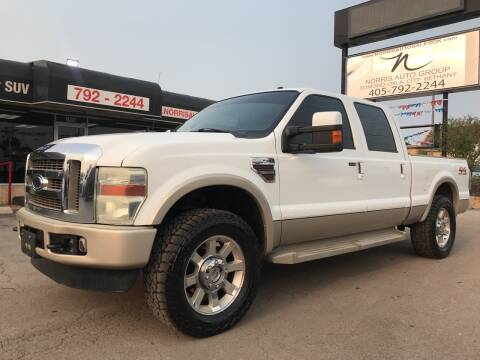 2008 Ford F-250 Super Duty for sale at NORRIS AUTO SALES in Oklahoma City OK