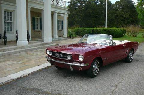 1965 Ford Mustang for sale at Vintage Motor Cars LLC in Rossville GA