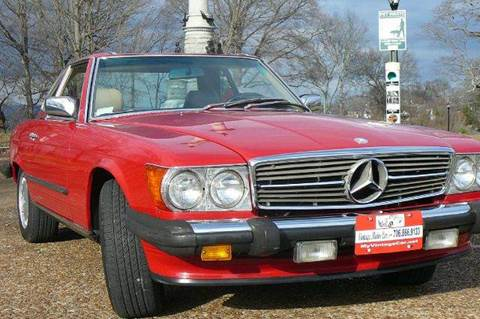 1987 Mercedes-Benz 560-Class for sale at Vintage Motor Cars LLC in Rossville GA