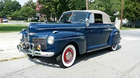 1941 Mercury Sport Conv. for sale at Vintage Motor Cars LLC in Rossville GA