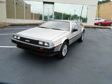 1981 DeLorean DMC 12 for sale at Vintage Motor Cars LLC in Rossville GA