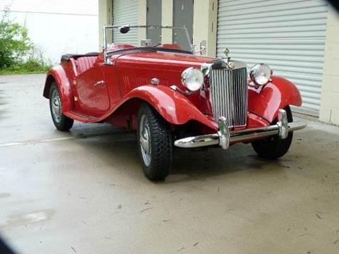 1952 MG TD for sale at Vintage Motor Cars LLC in Rossville GA