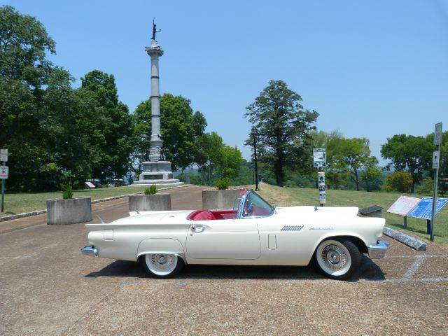 1957 Ford Thunderbird for sale at Vintage Motor Cars LLC in Rossville GA
