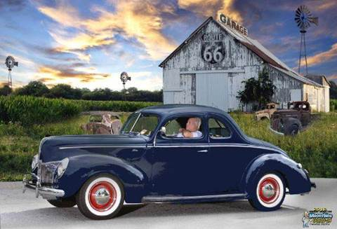 1940 Ford Coupe for sale at Vintage Motor Cars LLC in Rossville GA