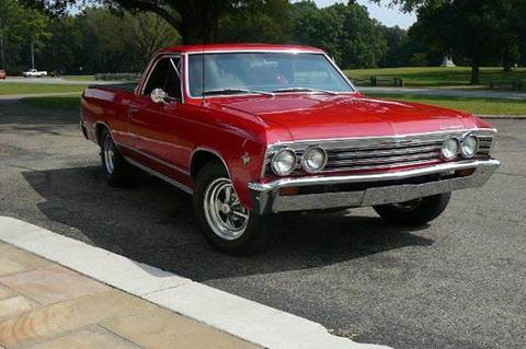 1967 Chevrolet El Camino for sale at Vintage Motor Cars LLC in Rossville GA