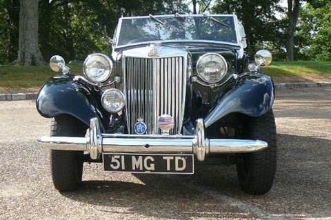 1951 MG TD for sale in Rossville, GA