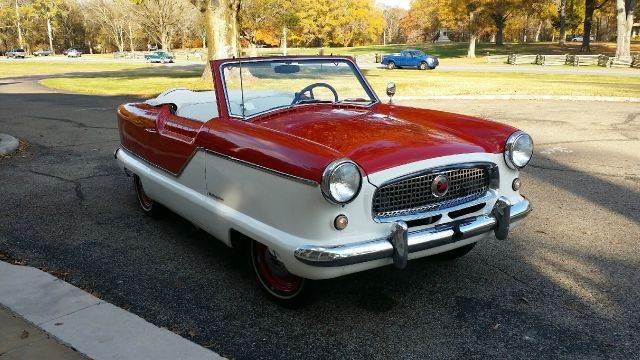 1957 Nash Metropolitan for sale at Vintage Motor Cars LLC in Rossville GA