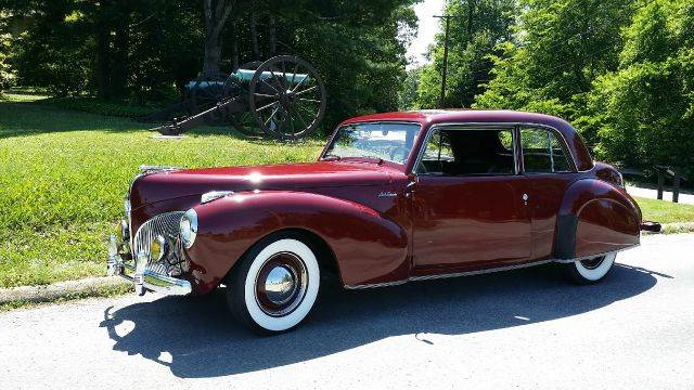 1941 Lincoln Continental for sale at Vintage Motor Cars LLC in Rossville GA