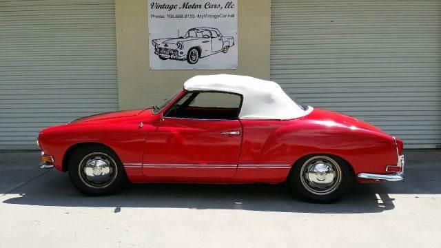 1970 Volkswagen Karmann Ghia for sale at Vintage Motor Cars LLC in Rossville GA