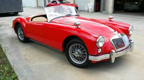1955 MG MGA for sale at Vintage Motor Cars LLC in Rossville GA