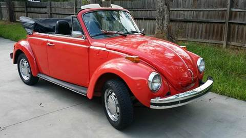 1976 Volkswagen Super Beetle for sale at Vintage Motor Cars LLC in Rossville GA
