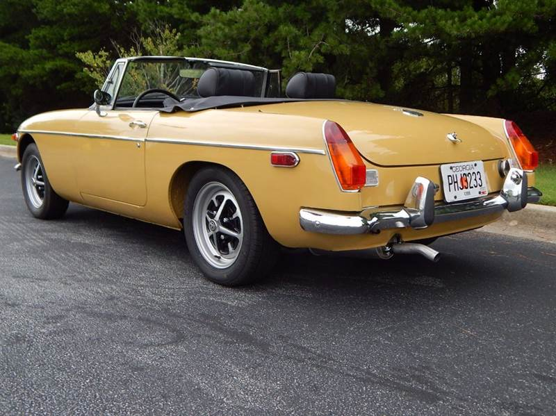1973 MG B for sale at Vintage Motor Cars LLC in Rossville GA