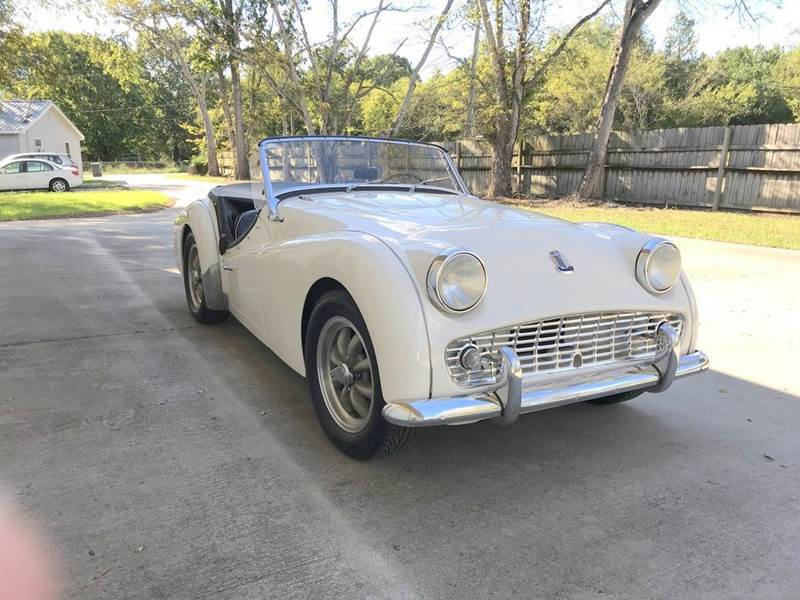 1959 Triumph TR3A for sale at Vintage Motor Cars LLC in Rossville GA