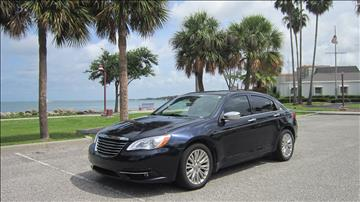 2011 Chrysler 200 for sale at MaxxCar in Sarasota FL