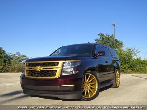 2015 Chevrolet Tahoe for sale in Tyler, TX