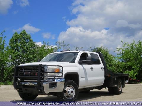 2015 GMC Sierra 3500HD CC for sale in Tyler, TX