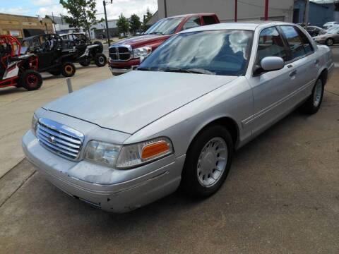 2002 Ford Crown Victoria LX for sale at Arkansas Wholesale Auto Sales in Arkadelphia AR