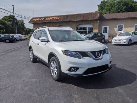 2015 Nissan Rogue for sale at Worley Motors in Enola PA