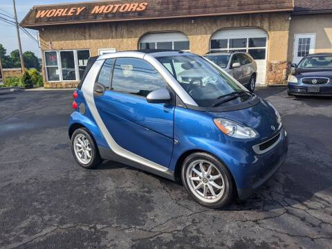 2008 Smart fortwo for sale at Worley Motors in Enola PA