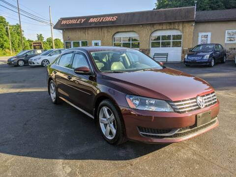 2012 Volkswagen Passat for sale at Worley Motors in Enola PA