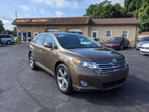 2009 Toyota Venza for sale at Worley Motors in Enola PA