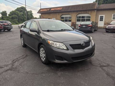 2010 Toyota Corolla for sale at Worley Motors in Enola PA