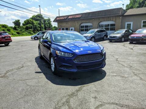 2013 Ford Fusion for sale at Worley Motors in Enola PA