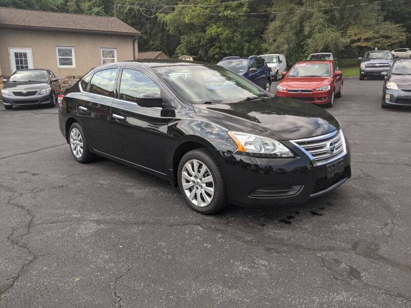2015 Nissan Sentra for sale at Worley Motors in Enola PA