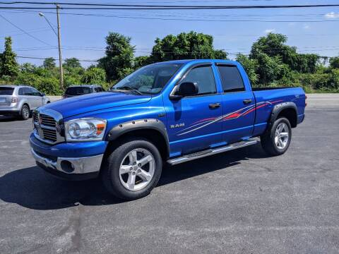 2008 Dodge Ram Pickup 1500 for sale at Worley Motors in Enola PA