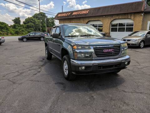 2007 GMC Canyon for sale at Worley Motors in Enola PA