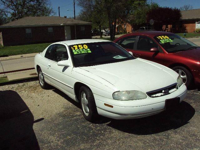 1995 Chevrolet Monte Carlo LS 2dr Coupe - Mckinney TX
