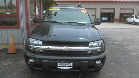 2004 Chevrolet TrailBlazer EXT for sale at SPRINGFIELD PRE-OWNED in Springfield IL