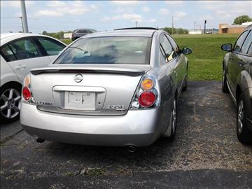 2003 Nissan Altima for sale at SPRINGFIELD PRE-OWNED in Springfield IL