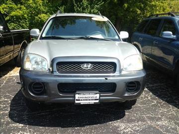 2002 Hyundai Santa Fe for sale in Springfield, IL